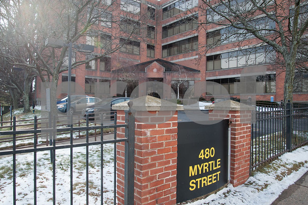 02/02/18 Wesley Bunnell | Staff The former Stanley Black & Decker building located at 480 Myrtle St has been listed for sale.