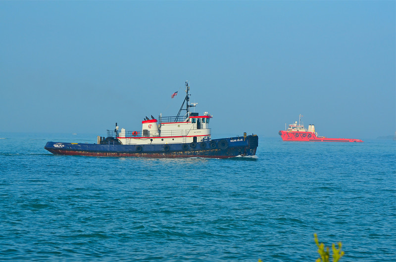 Ocean Atlas is a sea going tug boat.