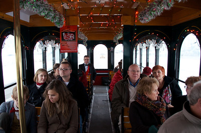 2013-12-21 Christmas Feast and Trolley Ride