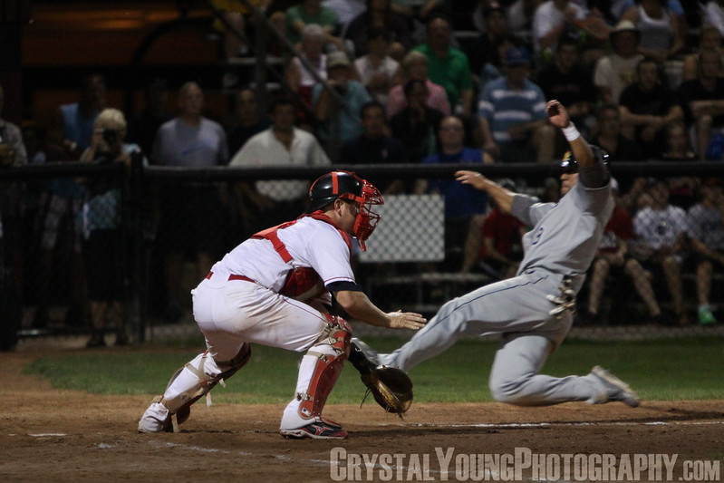 Barrie Baycats at Brantford Red Sox IBL Playoffs, Finals Game 1 August 29, 2013