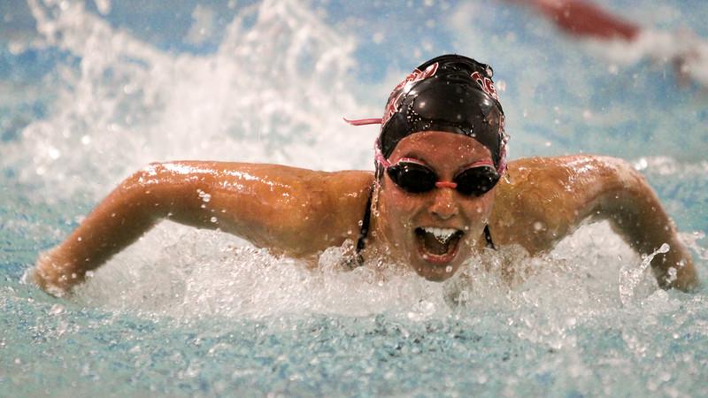 Lancaster vs Orchard Park Varsity Swim