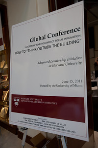 "Global Conference Leadership for High Impact Social Innovation: How to""Think Outside the Building"" - June 15, 2011"