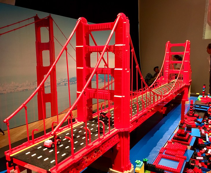 LEGO Golden Gate Bridge