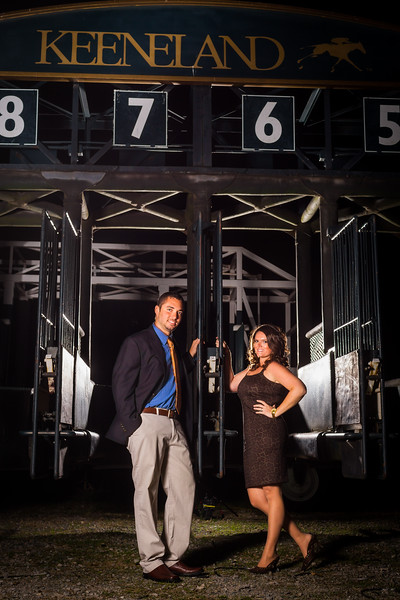 Engagement photography at Keeneland with Aaron & Lizzy. 10.16.2012