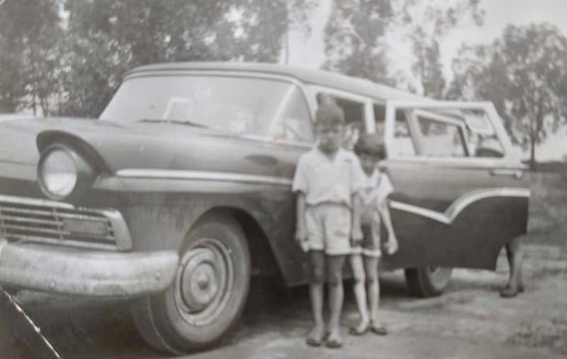 Família Gaspar em viagem