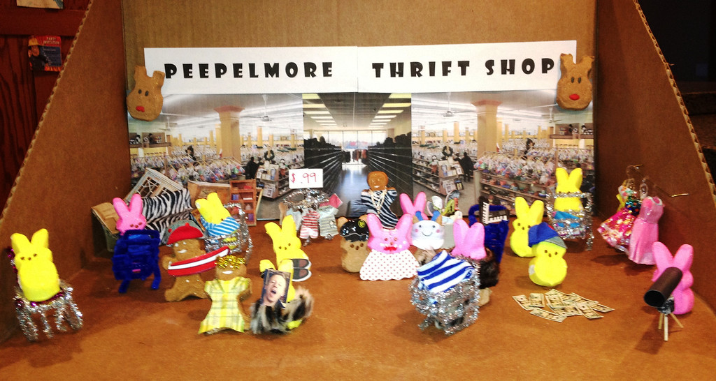 ". ""Peepelmore Thrift Shop,\"" by Fritz Johnson"