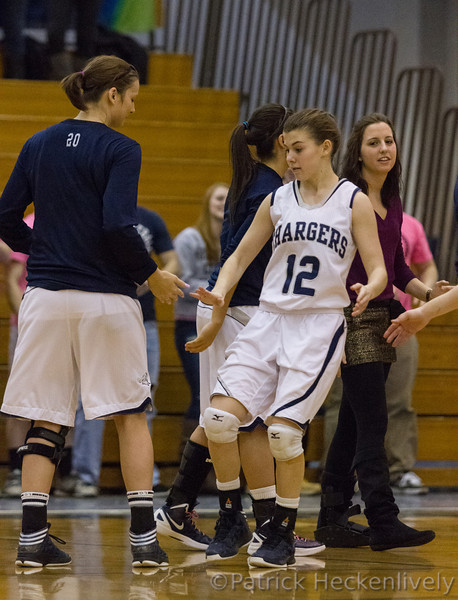 2013-02-14 Hillsdale College Women's Basketball vs. Lake Erie