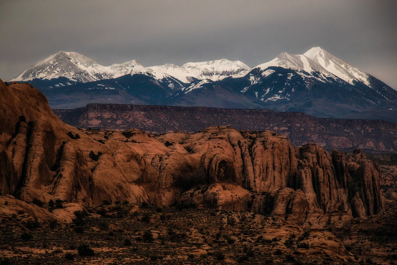LA SAL MOUNTAINS, Moab, Utah
