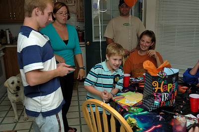 2009 Hunter's 8th Birthday Party
