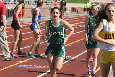 D1 Girls' 4x800 Meter Relay - 2014 MHSAA LP T&F Finals
