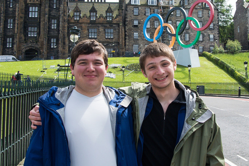 The olympic football matches were played in Glasgow.