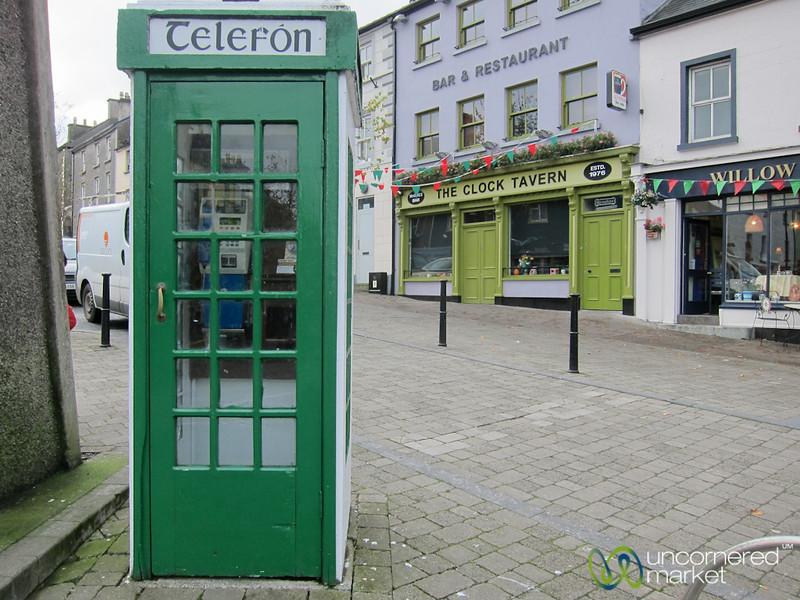 Irish Telephone Booth - Westport, Ireland