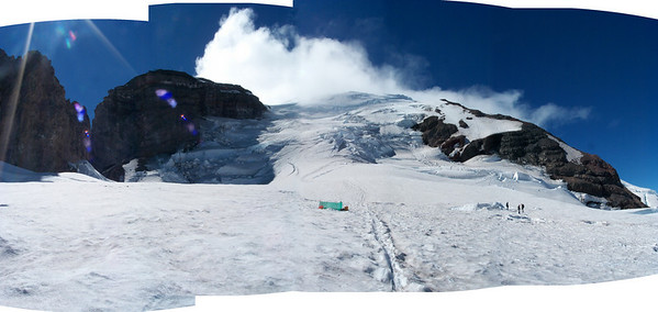 Mount Rainier and Camp Muir