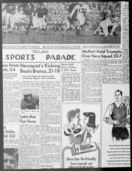 Daily Trojan, Vol. 33, No. 36, October 28, 1941