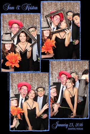 Kristen & Sam's Wedding 1-23-16