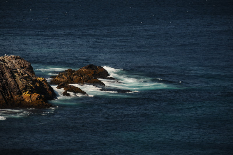 It is easy for me to become mesmerized by the sights and sounds of the pounding ocean serf.