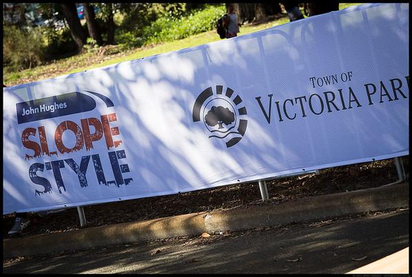 SlopeStyle Victoria Park 26th April 2015
