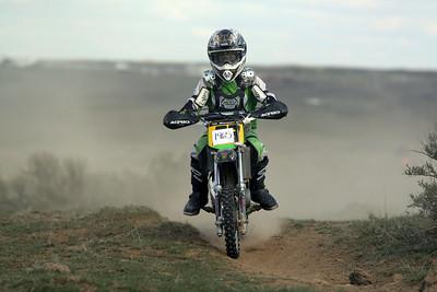 2009 Desert 100 Kids Race #1- Green Bikes