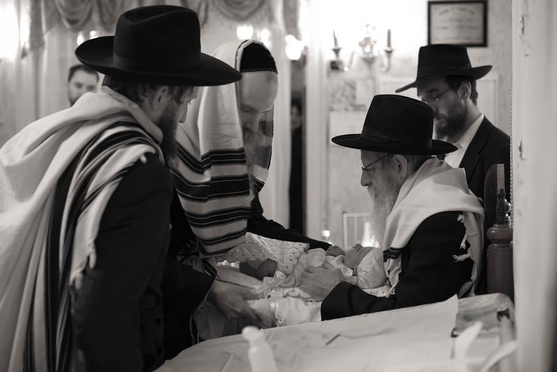The Brit Milah, or ritual circumcision