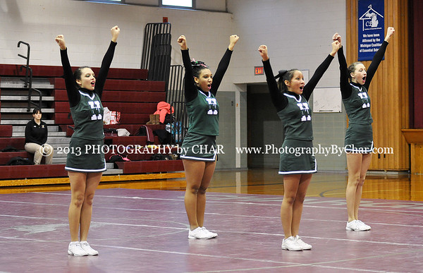 Union City Competitive Cheer Invitational 1-19-2013