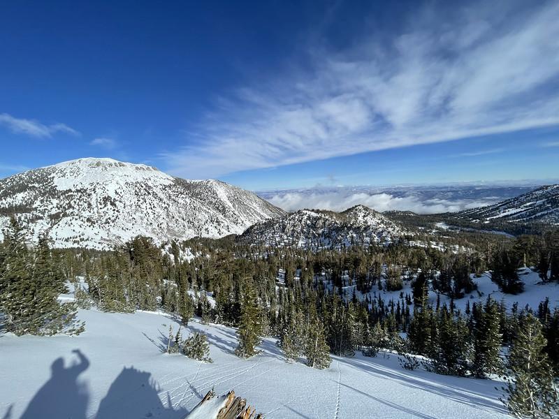 View towards Reno from Tamarack Peak