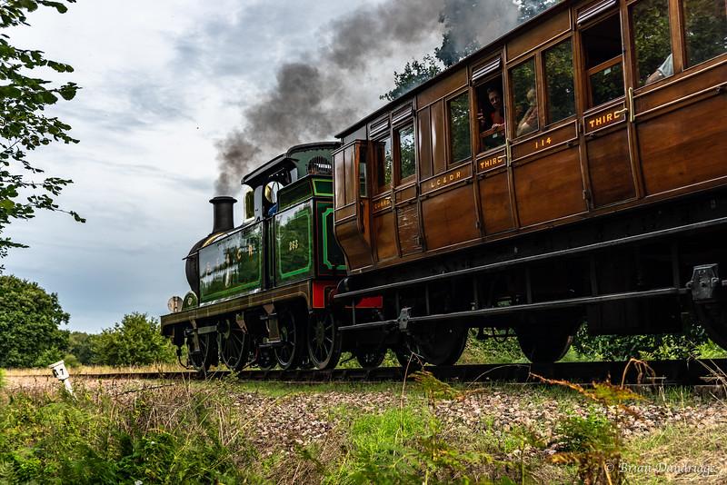 South Eastern & Chatham Railway No.263 starts the Freshfield incline
