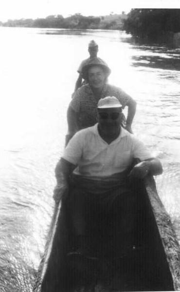 Casal Carvalho no rio lulu 1965