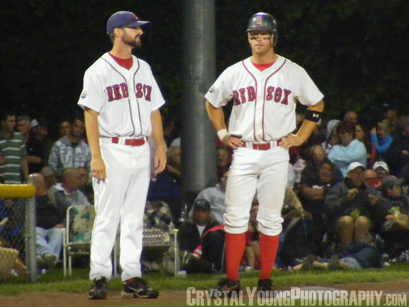 London Majors at Brantford Red Sox August 27, 2008