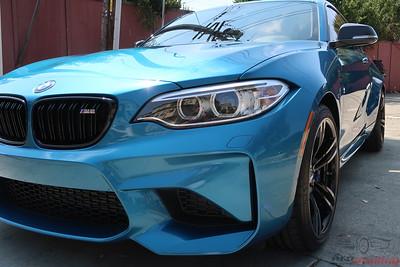 2017 BMW M2 - Long Beach Blue Metallic
