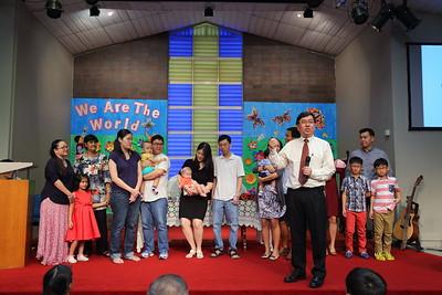 Children's Dedication (30 Oct 2016)