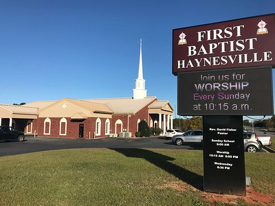 First Baptist Church, Haynesville