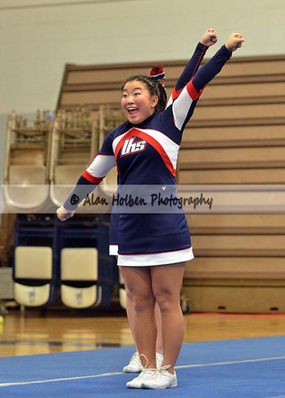 Cheer at LCC - Lakewood varsity - Round 2 - Jan 25