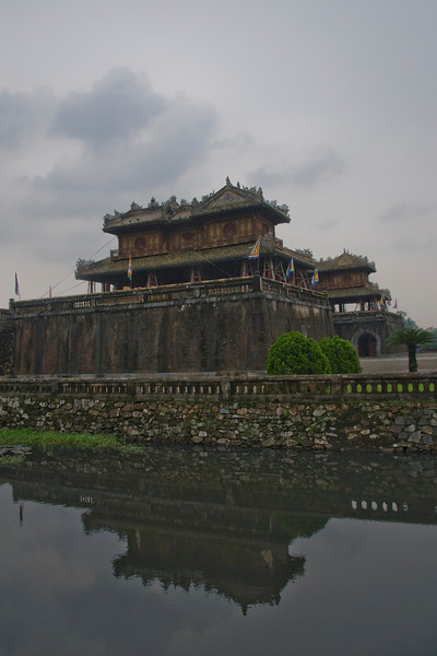 Another shot of entrance to Citadel - Hue, Vietnam