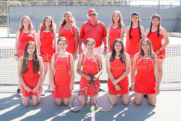 2019 Girls Athletes + Team