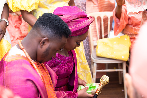 Moji and Taiwo - The Traditional Engagement