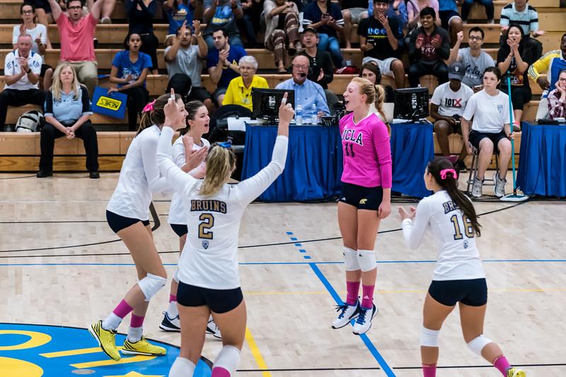 UCLA Women's Volleyball vs. Arizona State @ Collins Court, Wooden Center