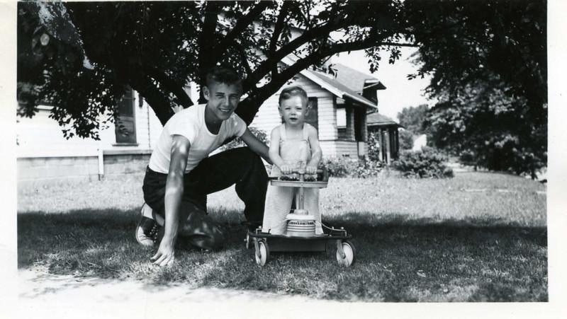 Jim Harsha, Bobby Jansen. 1946?