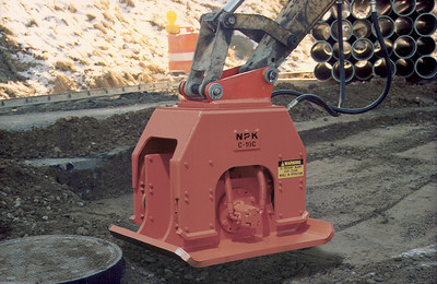C10C Plate Compactor / Driver