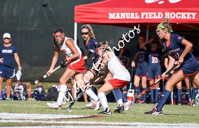 duPont Manual Freshman Girls Field Hockey vs SHA