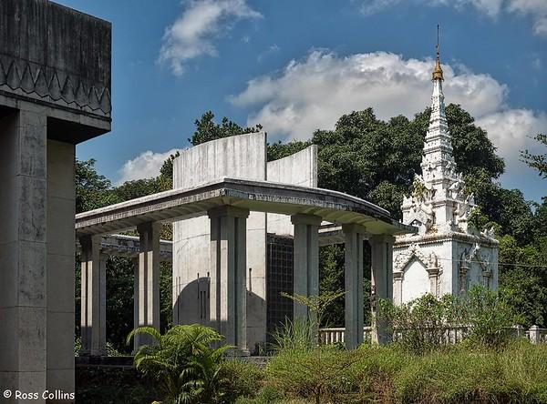 Khin Kyi and Queen Supalayat Mausoleums