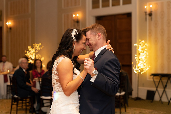 Announcement, First Dance and, Toasts