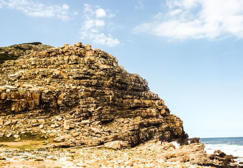 Typical coastal cliffs