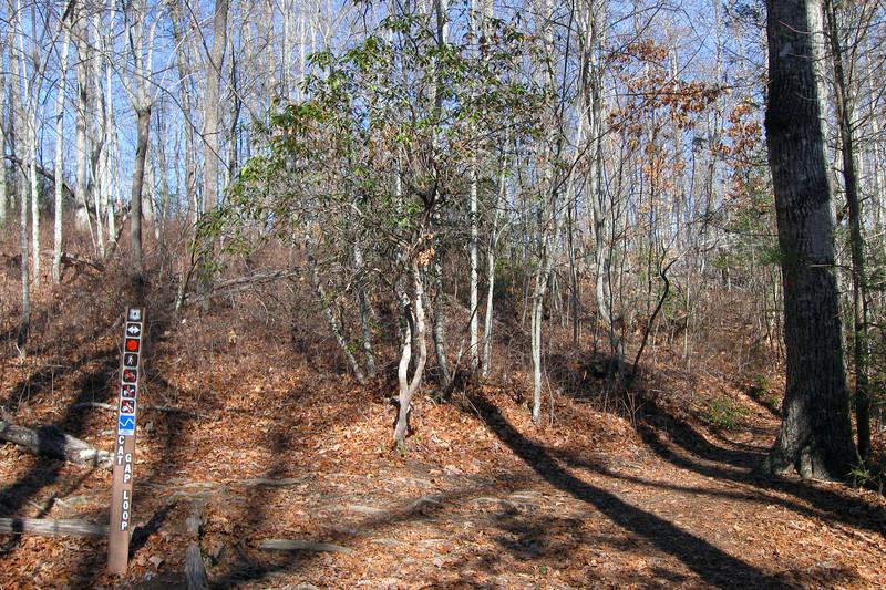 Cat Gap Bypass-Cat Gap Loop Trail Junction