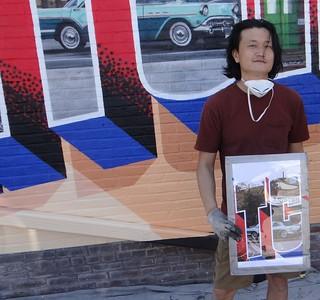 Litchfield Art Fair & Greeting Tour Mural - 5/1/2021