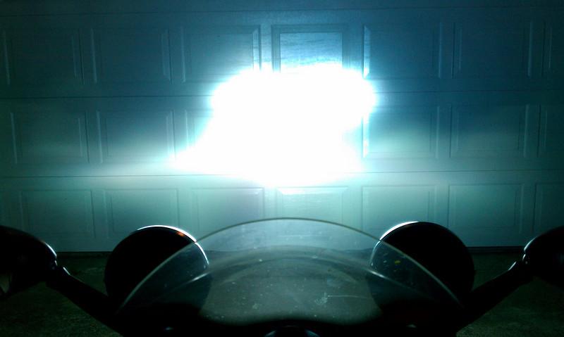 Low beam & PIAA driving lights
