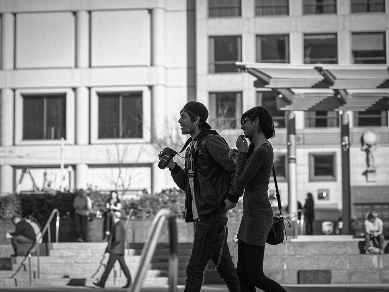 Photog in Union Square