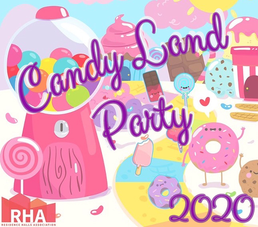 Candy Land Party CSUN RHA 2020