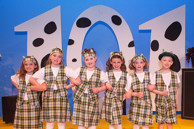 101 Dalmatians and Aladdin SHOW and GROUP