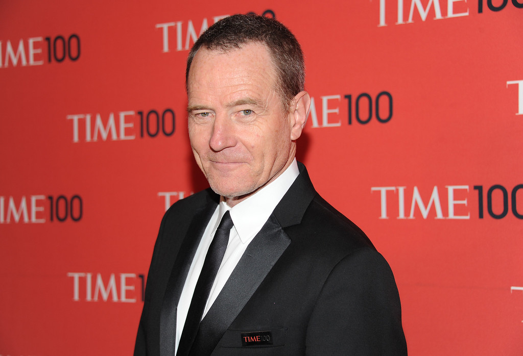 """. Actor Bryan Cranston attends the TIME 100 Gala celebrating the \""""100 Most Influential People in the World\"""" at Jazz at Lincoln Center on Tuesday April 23, 2013 in New York. (Photo by Evan Agostini/Invision/AP)"""