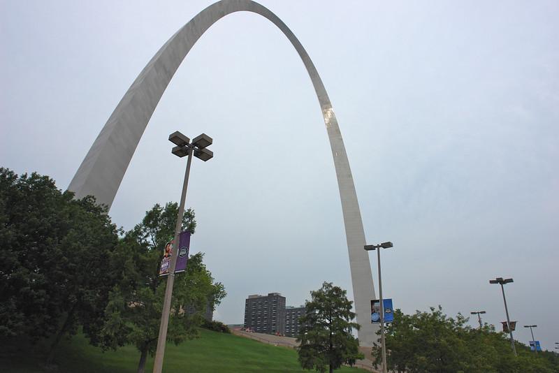 St. Louis arch/riverfront - 01